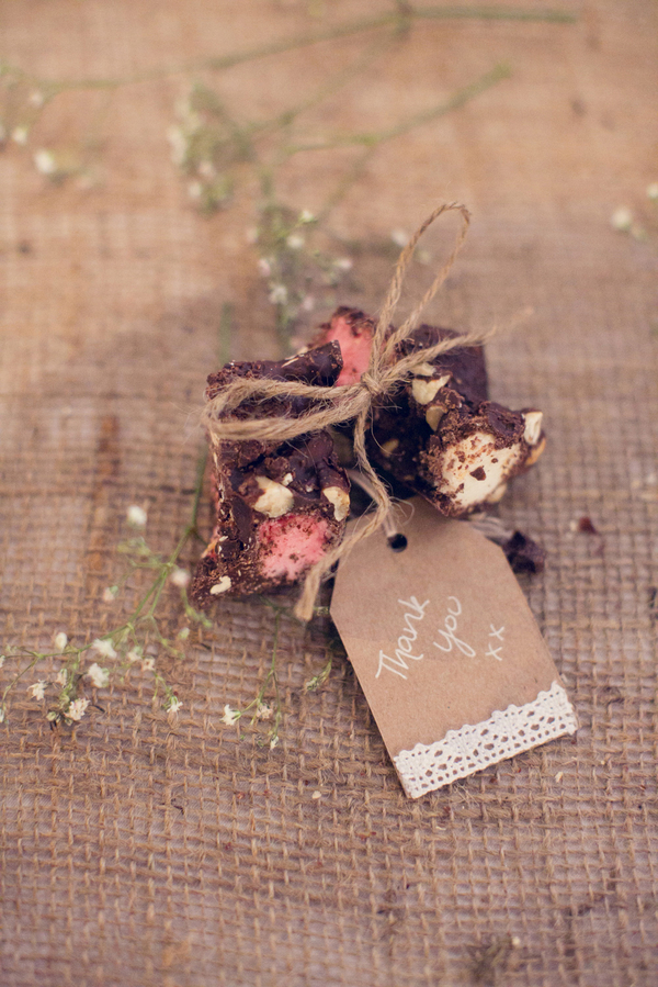 Rustic Wedding Favour Ideas