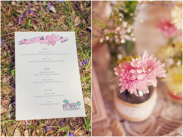 Rustic Wedding Menu Ideas