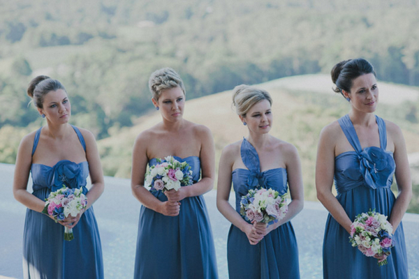 Blue Bridesmaids Coffs Harbour | Love Wed Bliss