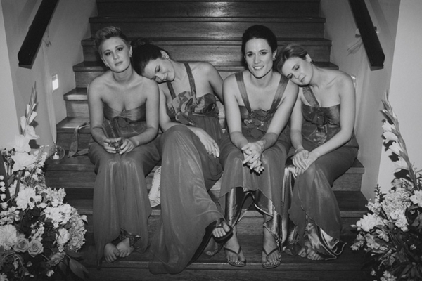 Weary Bridesmaids