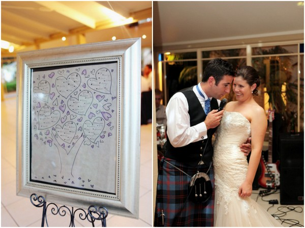 purple heart seating chart Tamworth Scottish Themed Wedding by Wanted Imagery