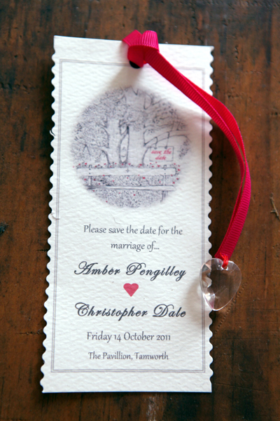 Save The Date with Scottish Theme | Love Wed Bliss