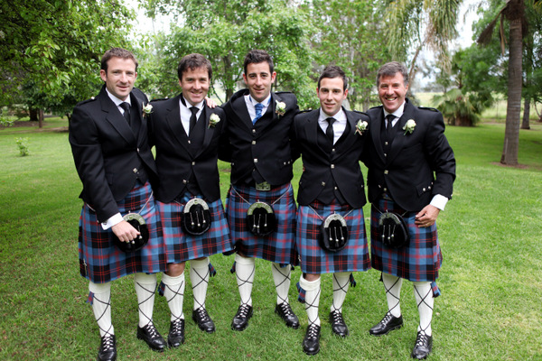 Scottish Groomsmen | Love Wed Bliss