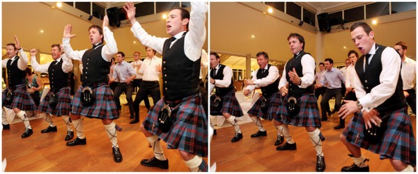 Scottish Wedding Haka Dance | Love Wed Bliss