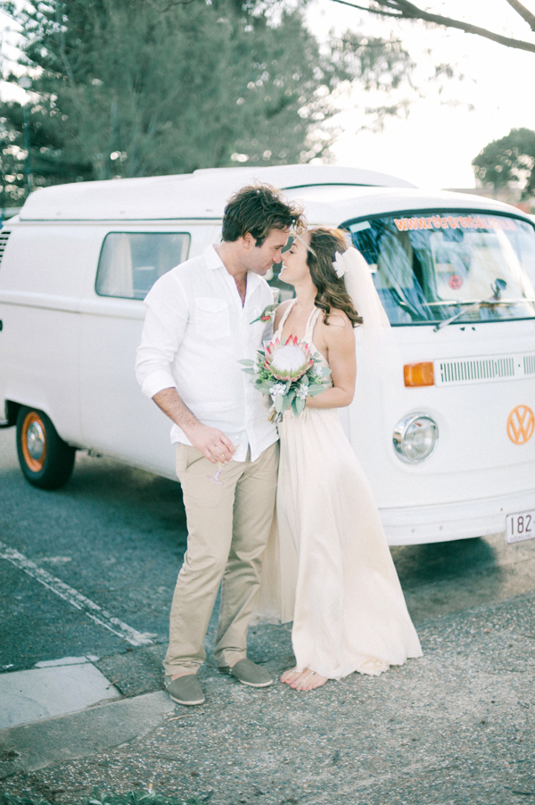 Boho Wedding Combi Van