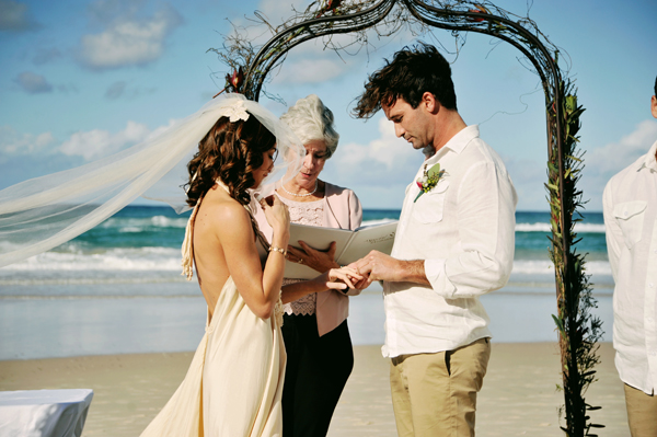 Dreamy Bohemian Beach Wedding by NGG Studios