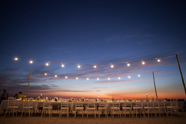 Beach Wedding Reception in Costa Rica
