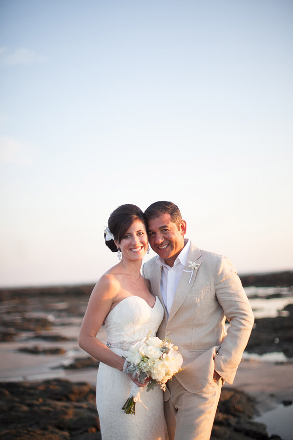 Costa Rica Beach Wedding Photos