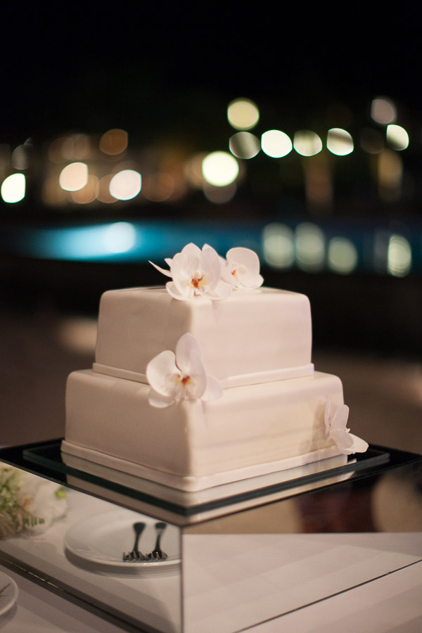 Costa Rica Destination Wedding Cake