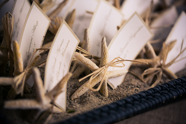 escort cards marthas vineyard 15 Marthas Vineyard Lighthouse Ceremony and Tented Outdoor Reception by Femina Photo + Design