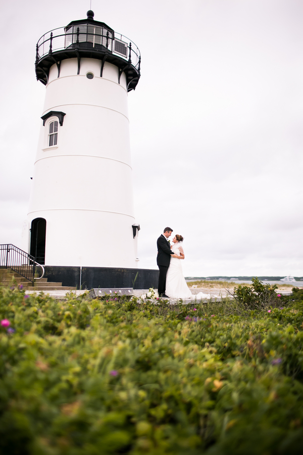 lighthouse ceremony marthas vineyard 8 Marthas Vineyard Lighthouse Ceremony and Tented Outdoor Reception by Femina Photo + Design