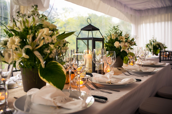 tented wedding marthas vinyard 16 Marthas Vineyard Lighthouse Ceremony and Tented Outdoor Reception by Femina Photo + Design