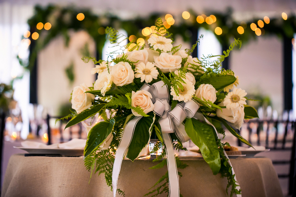wedding flowers marthas vineyard 12 Marthas Vineyard Lighthouse Ceremony and Tented Outdoor Reception by Femina Photo + Design