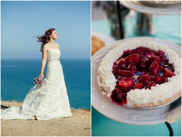 Beach Wedding Berry Tart