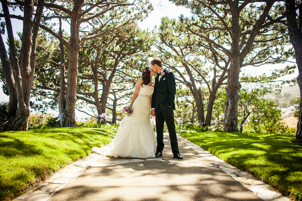 Bride & Groom Palos Verdes Wedding