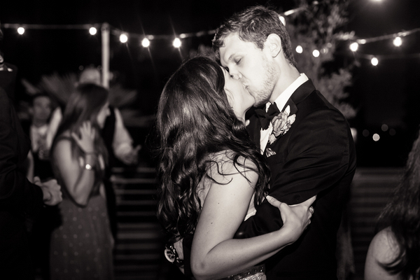 First Dance at Palos Verdes Wedding