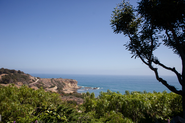 Palos Verdes Beach Wedding View