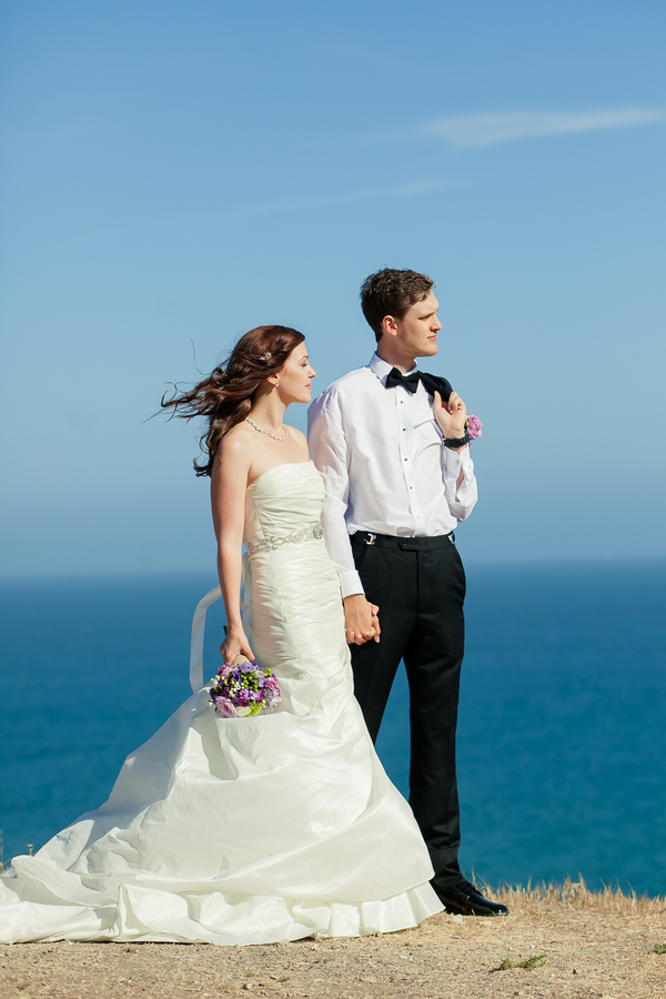 Palos Verdes Beach Wedding