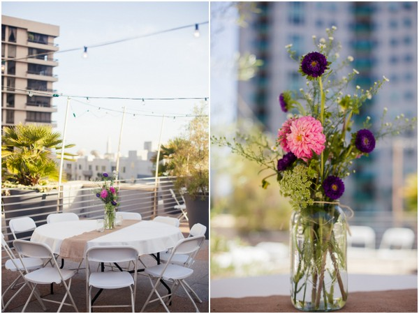 Rooftop Wedding Palos Verdes