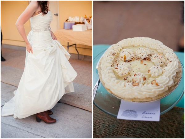 Rustic Touches at Beach Wedding