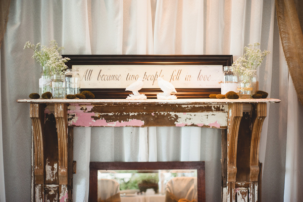 Budget Decor Ideas for Rustic Wedding