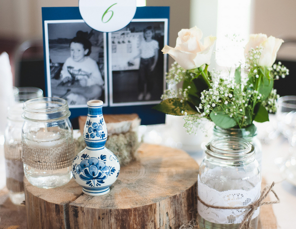 Rustic Centrepiece with Dutch Details