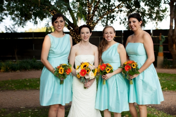 Casual Fall Bridesmaids