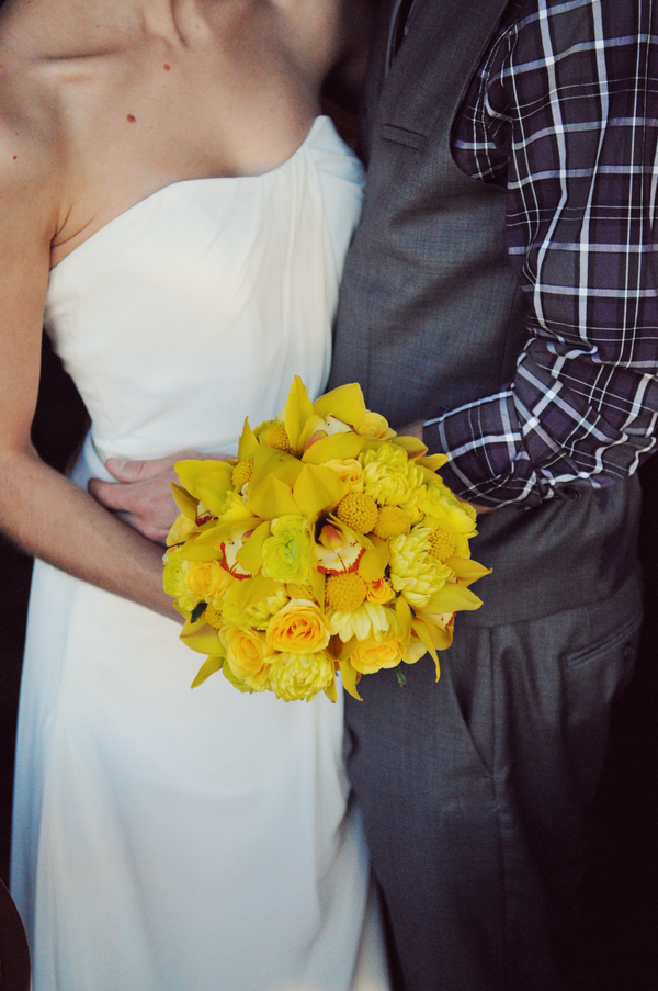 teal and yellow wedding ideas Teal and Yellow Casual Affair at The Rose Room Boise Idaho
