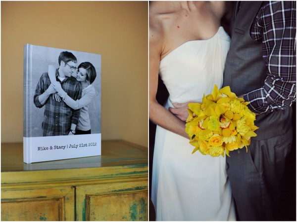 yellow and teal wedding Teal and Yellow Casual Affair at The Rose Room Boise Idaho