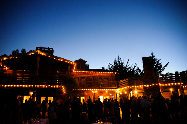 costanoa pescadero california wedding reception Indian Jewish Wedding from Bellalu Photography