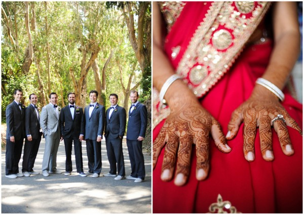 hindu wedding california Indian Jewish Wedding from Bellalu Photography