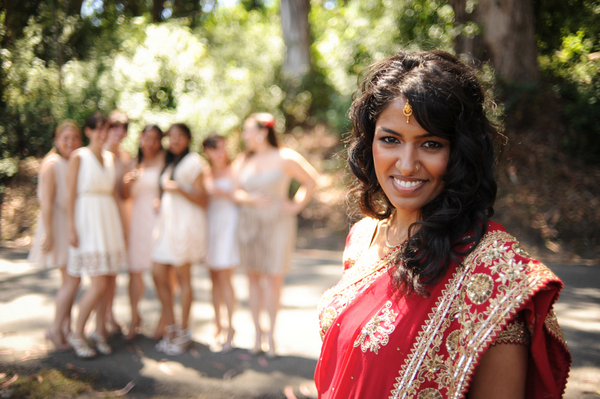indian bride california wedding Indian Jewish Wedding from Bellalu Photography