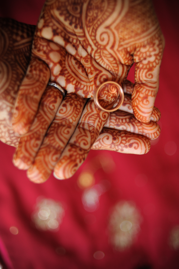 indian wedding hand tatoos Indian Jewish Wedding from Bellalu Photography
