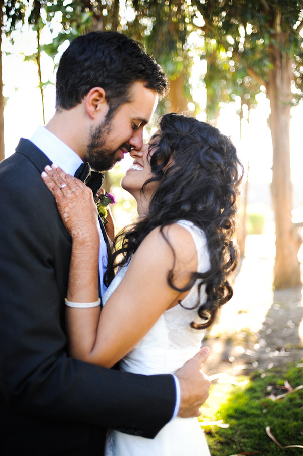 multicultural wedding northern california Indian Jewish Wedding from Bellalu Photography