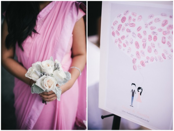 Bridesmaid Pink Sari