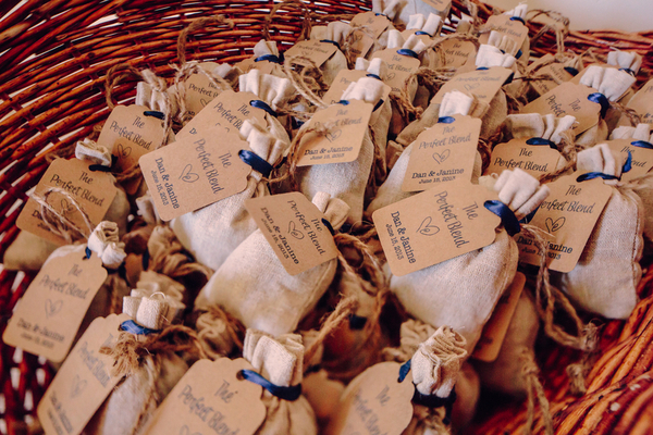 Burlap Favors Key West Wedding