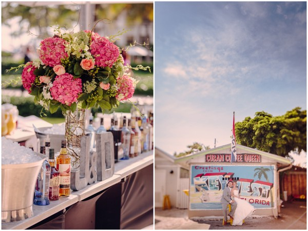 Outdoor Bar Key West Wedding