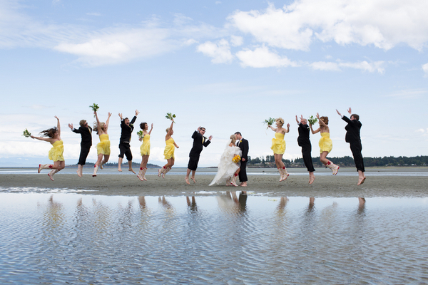 Beachfront Wedding Vancouver
