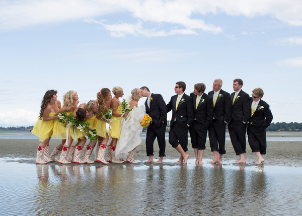 Bridal Party Vancouver Wedding