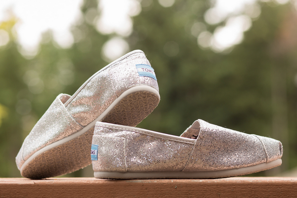 Silver Toms for Wedding