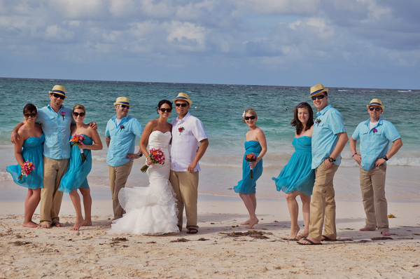 punta cana wedding party love wed bliss