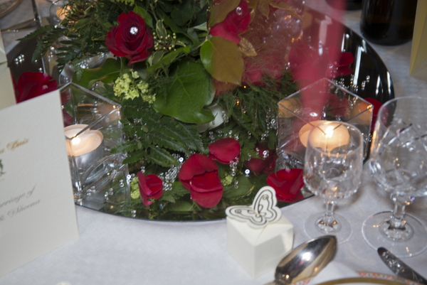 french wedding centerpieces Renewal of Vows French Country Style by Belle Momenti Photography