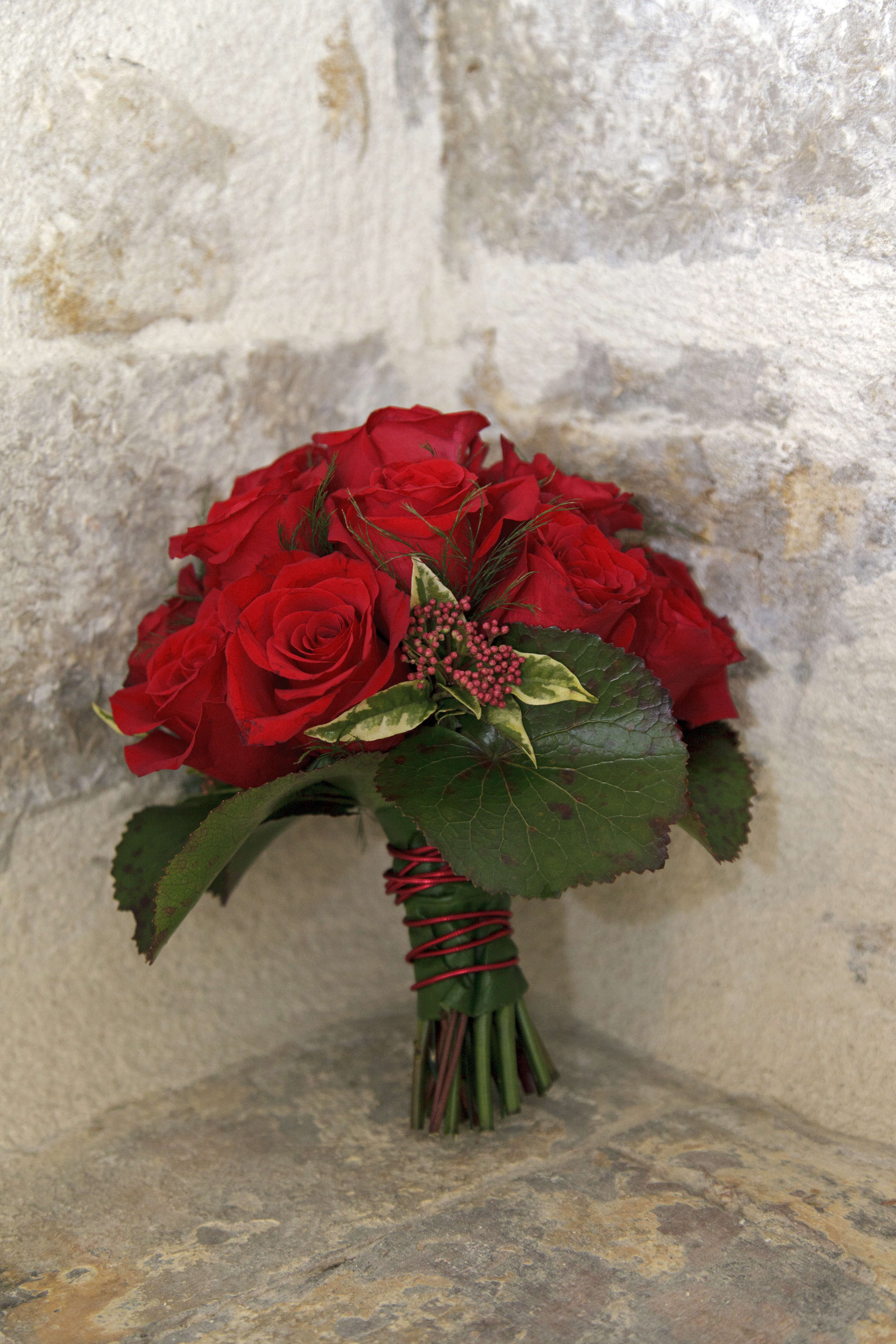 French Wedding Style Bouquet
