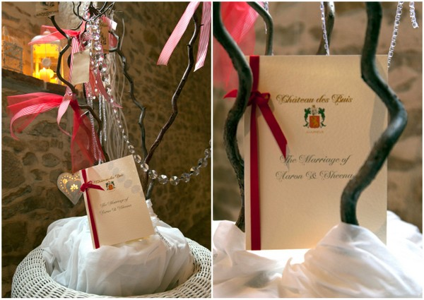 french wedding wishing tree Renewal of Vows French Country Style by Belle Momenti Photography