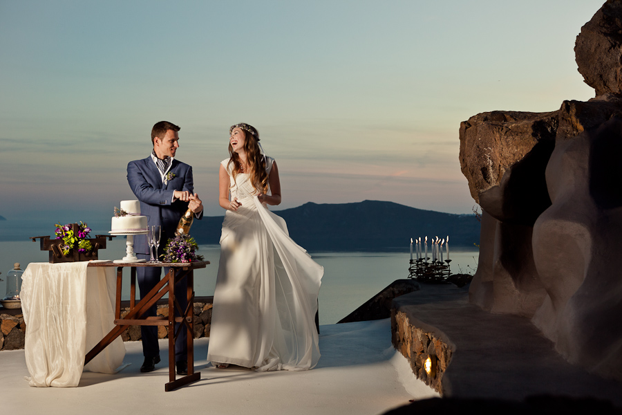 Oia Greece Wedding