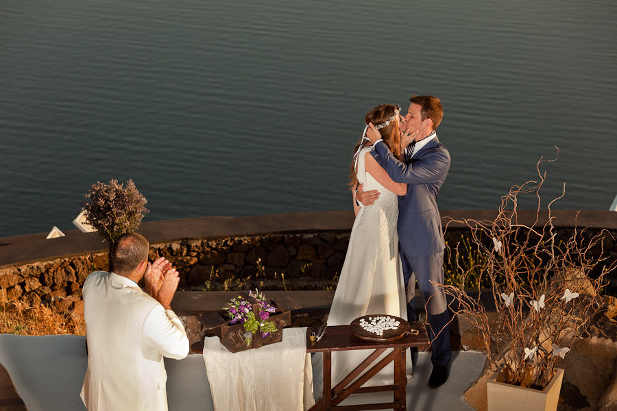 Santorini Greece Destination Wedding