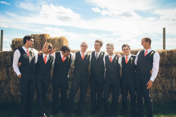 washington wedding groomsmen 16 Darling DIY Wedding in Washington DC by Kat Skye Photography