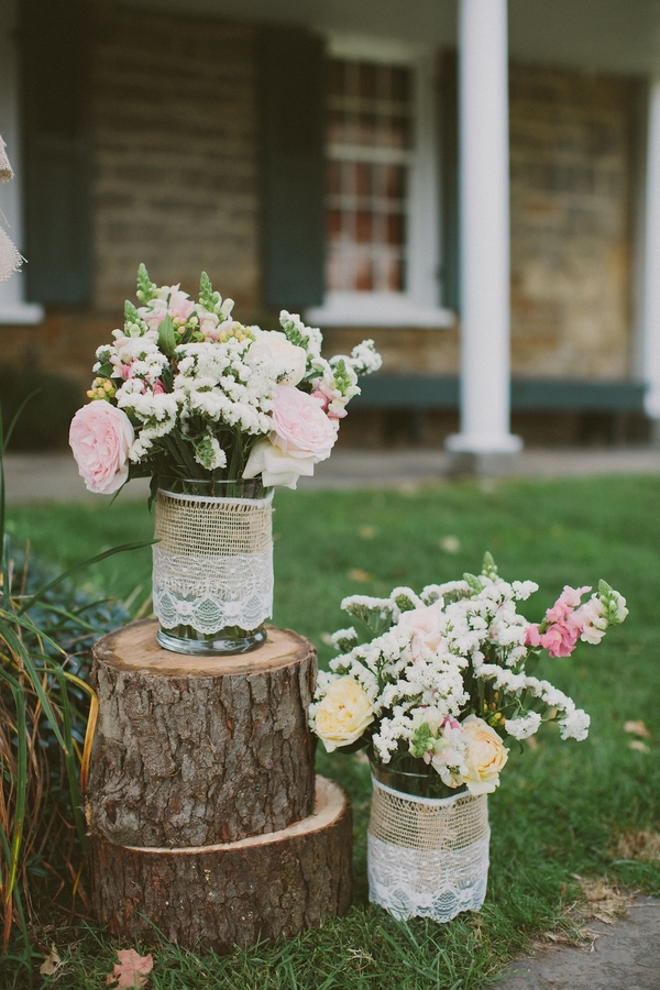 DIY Barn Wedding Decorations