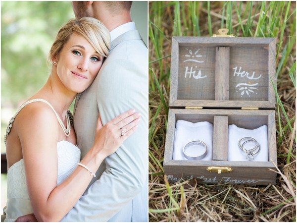 DIY Details Vineyard Wedding