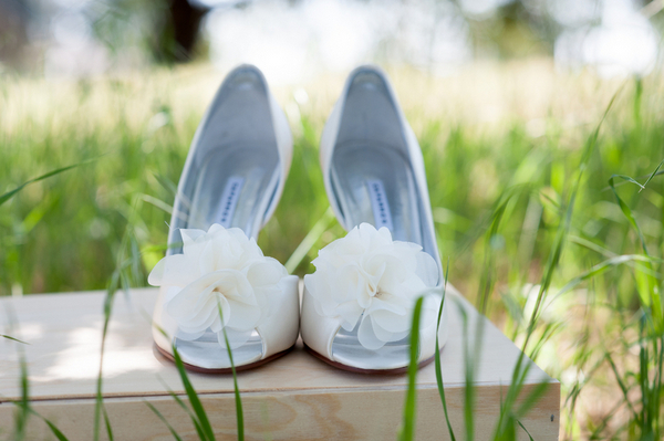 Vineyard Wedding Bridal Shoes